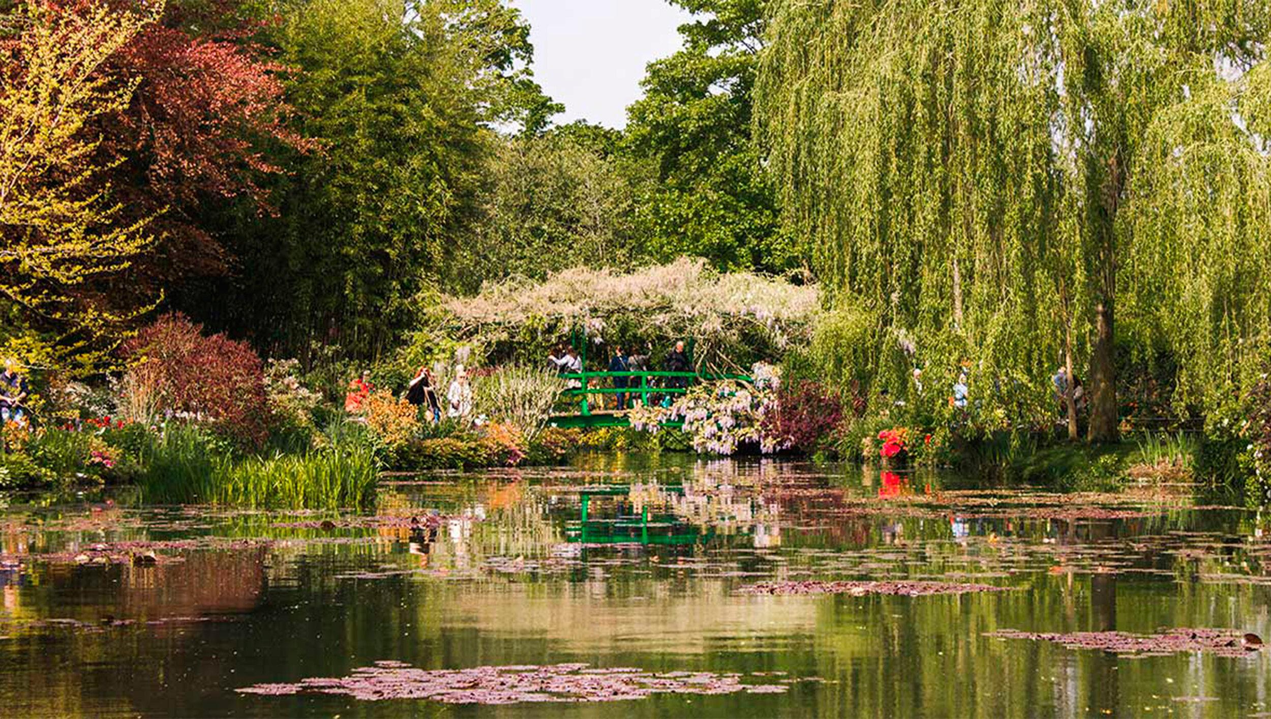9- Jardim do Monet -