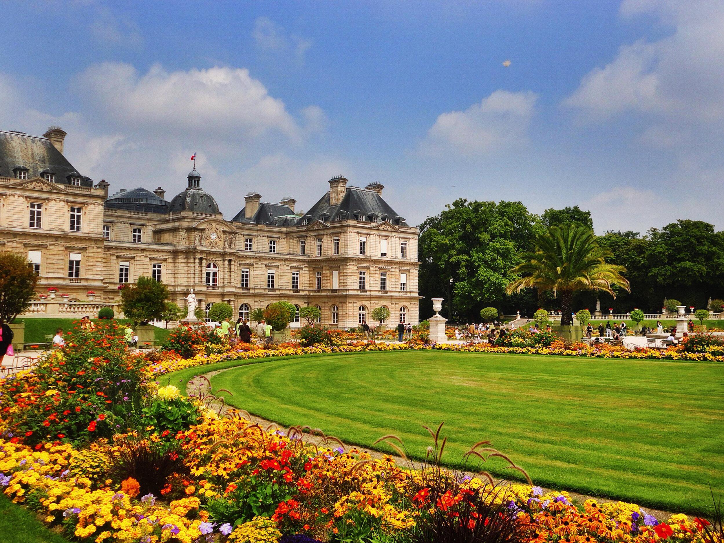 4- Jardim de Luxemburgo -