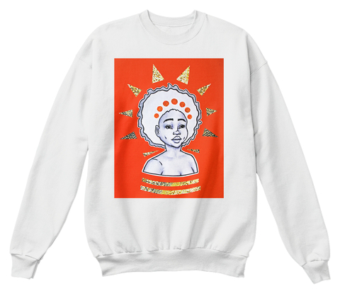 """Morning"" sweatshirt  (more colors available)   $33.99"