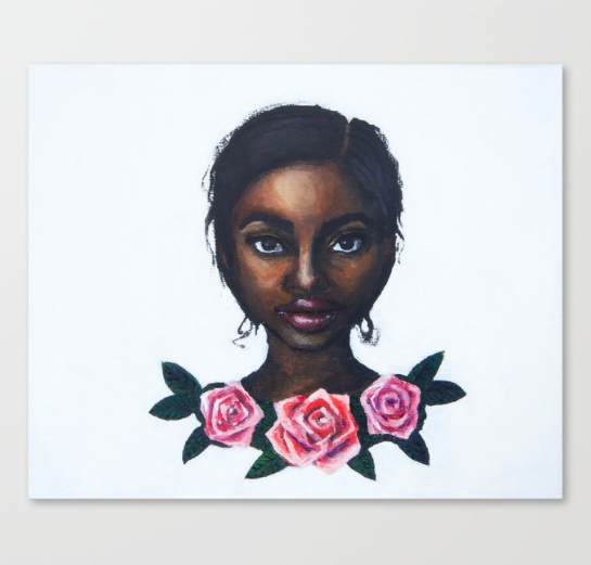 """Grace"" canvas print  starting from $85.99"