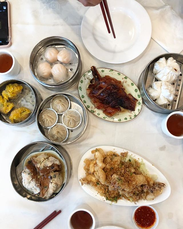 Friends from Morelia in town = old school dim sum. #sgv