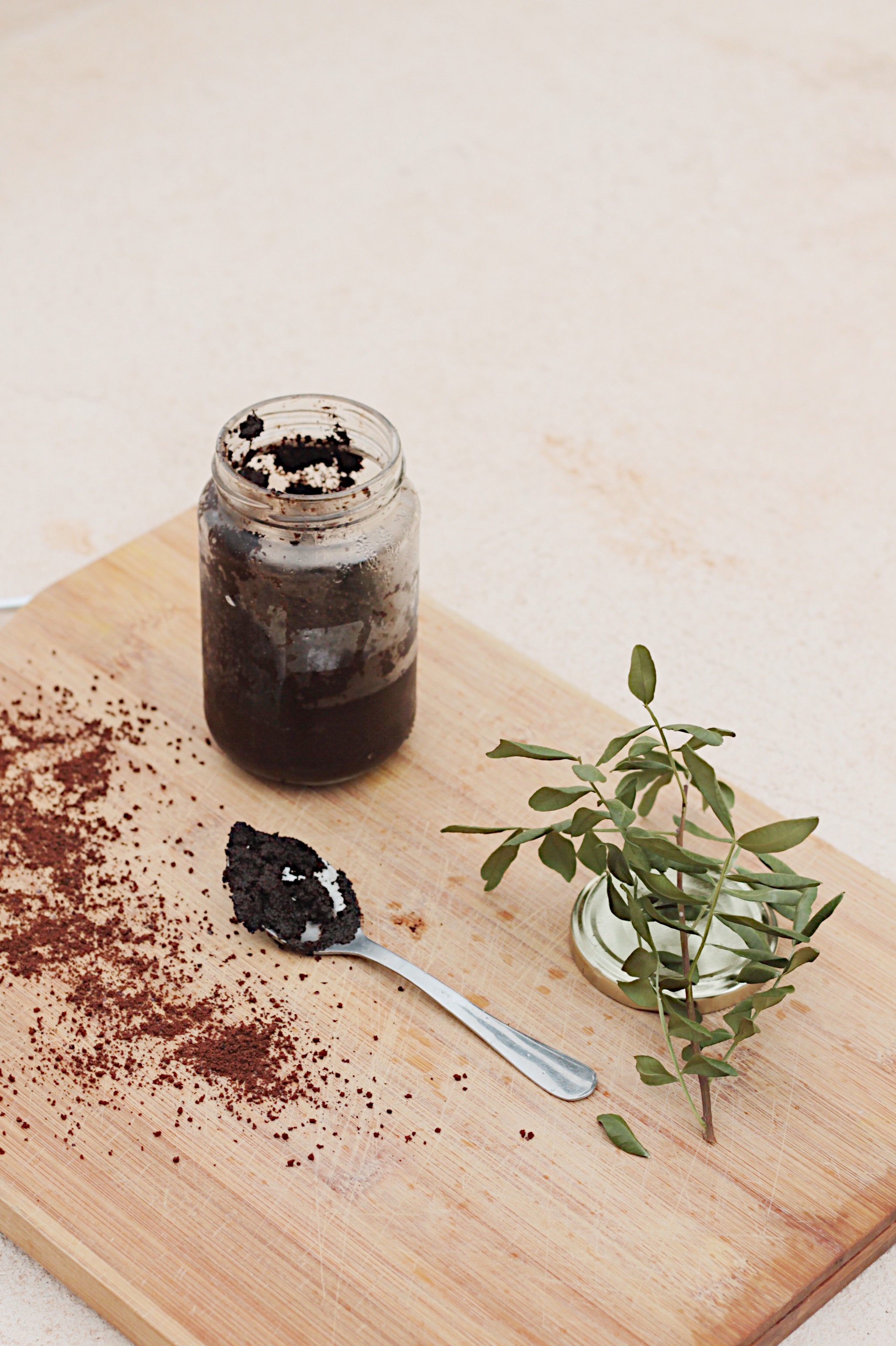 DIY zero waste body scrub