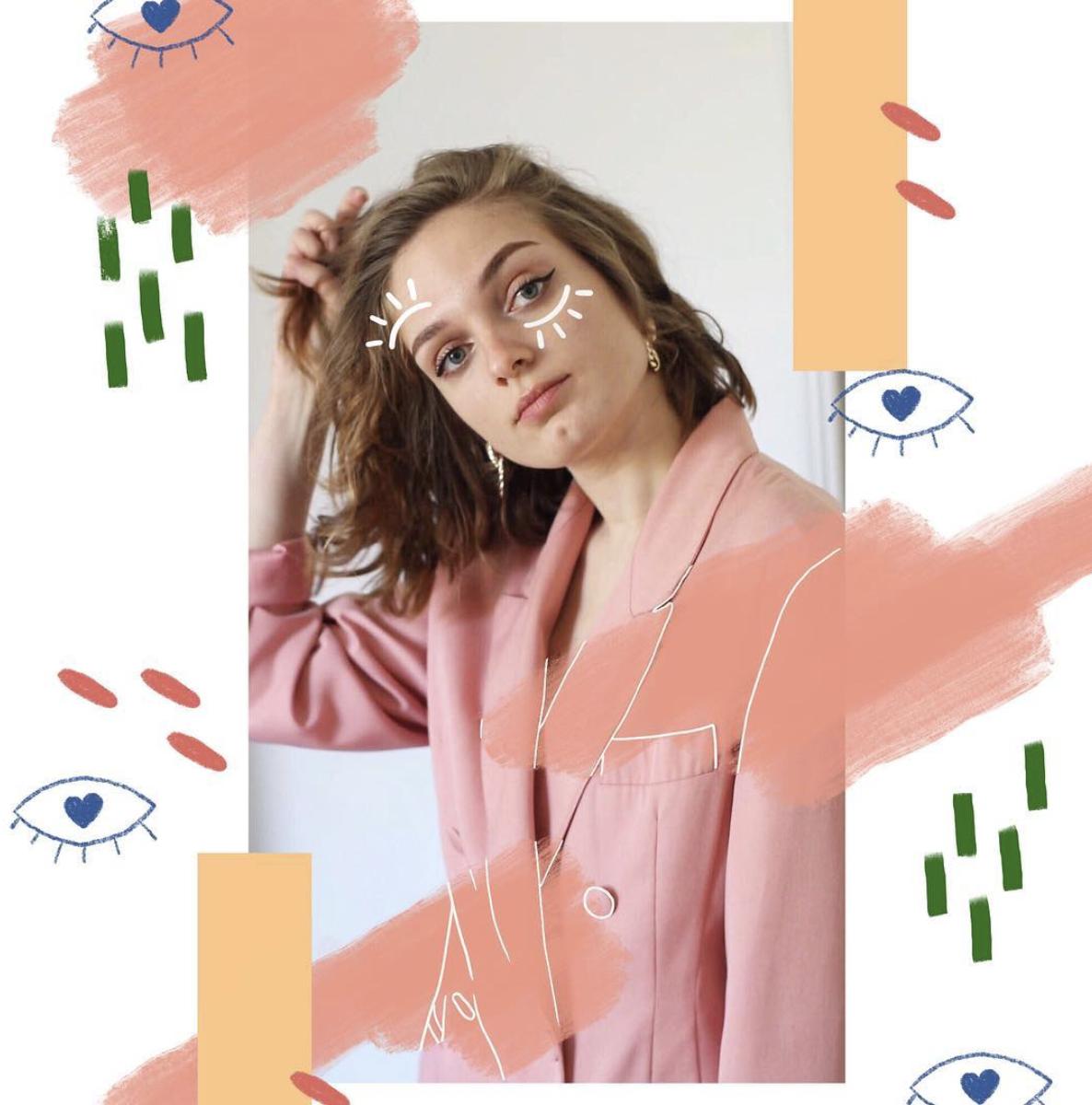 an interview with Louisa Schwartz aka @ectomorphe