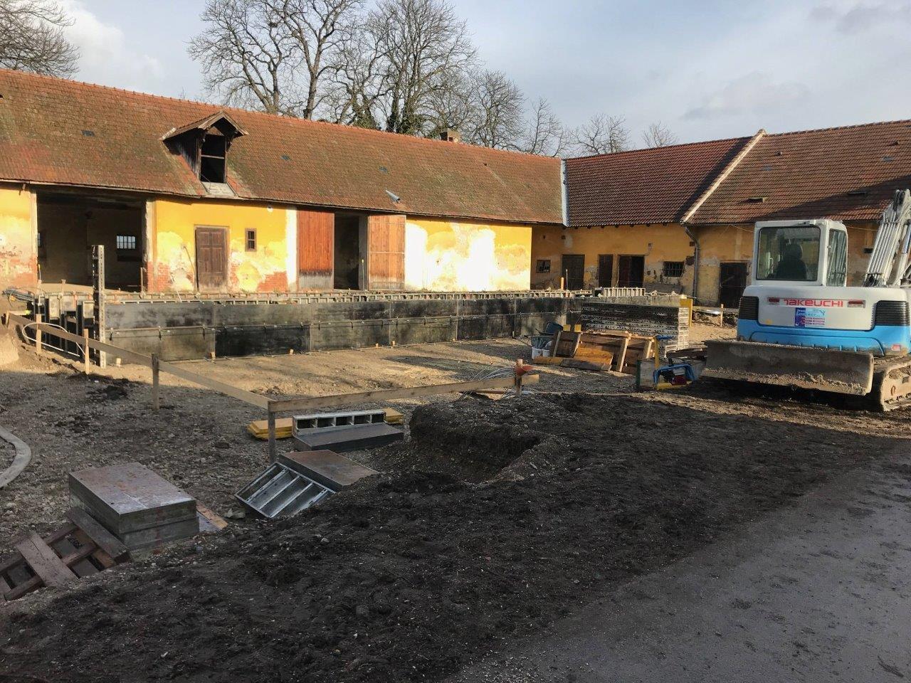 Clubhaus - Stand: Jänner 2018