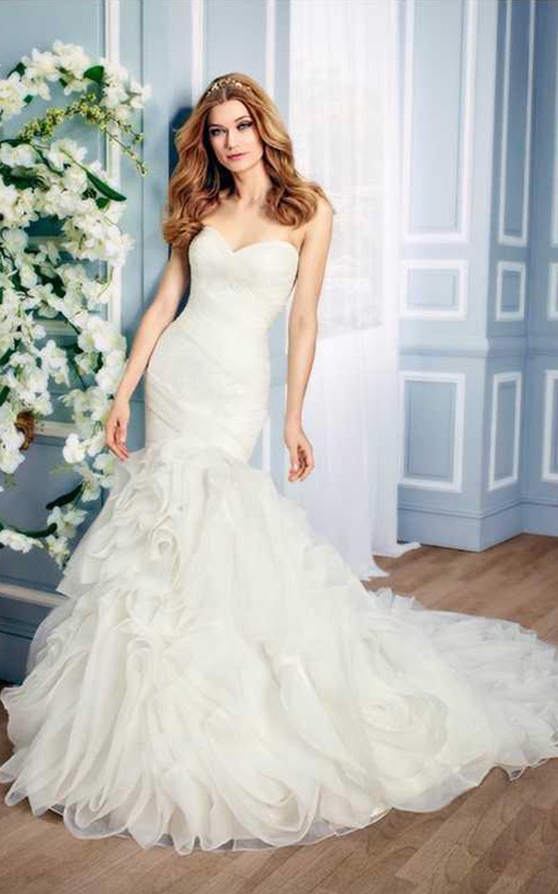 Kitty Chen | Style K1403  Size 8, Ivory  Reg. $2734.00  SALE $1367.00