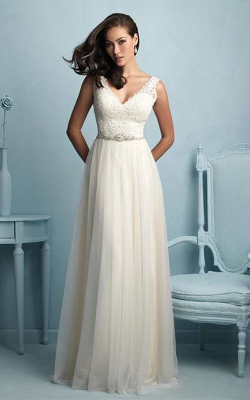 Allure | Style 9205  Size 10, Ivory  Reg. $1330.00  SALE $798.00