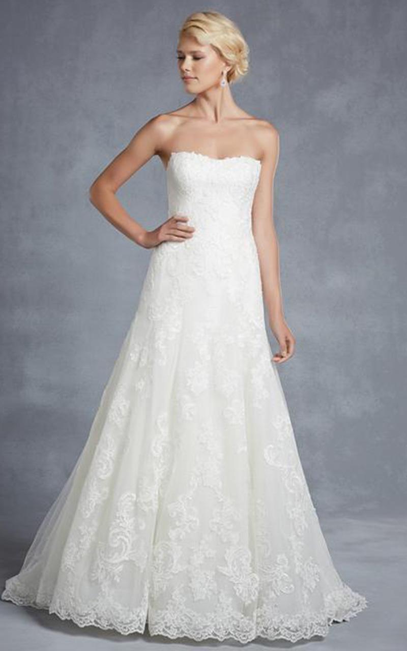 ENZOANI | Style Hamilton  Size 14, Ivory  Reg. $1,980.00  SALE $600.00