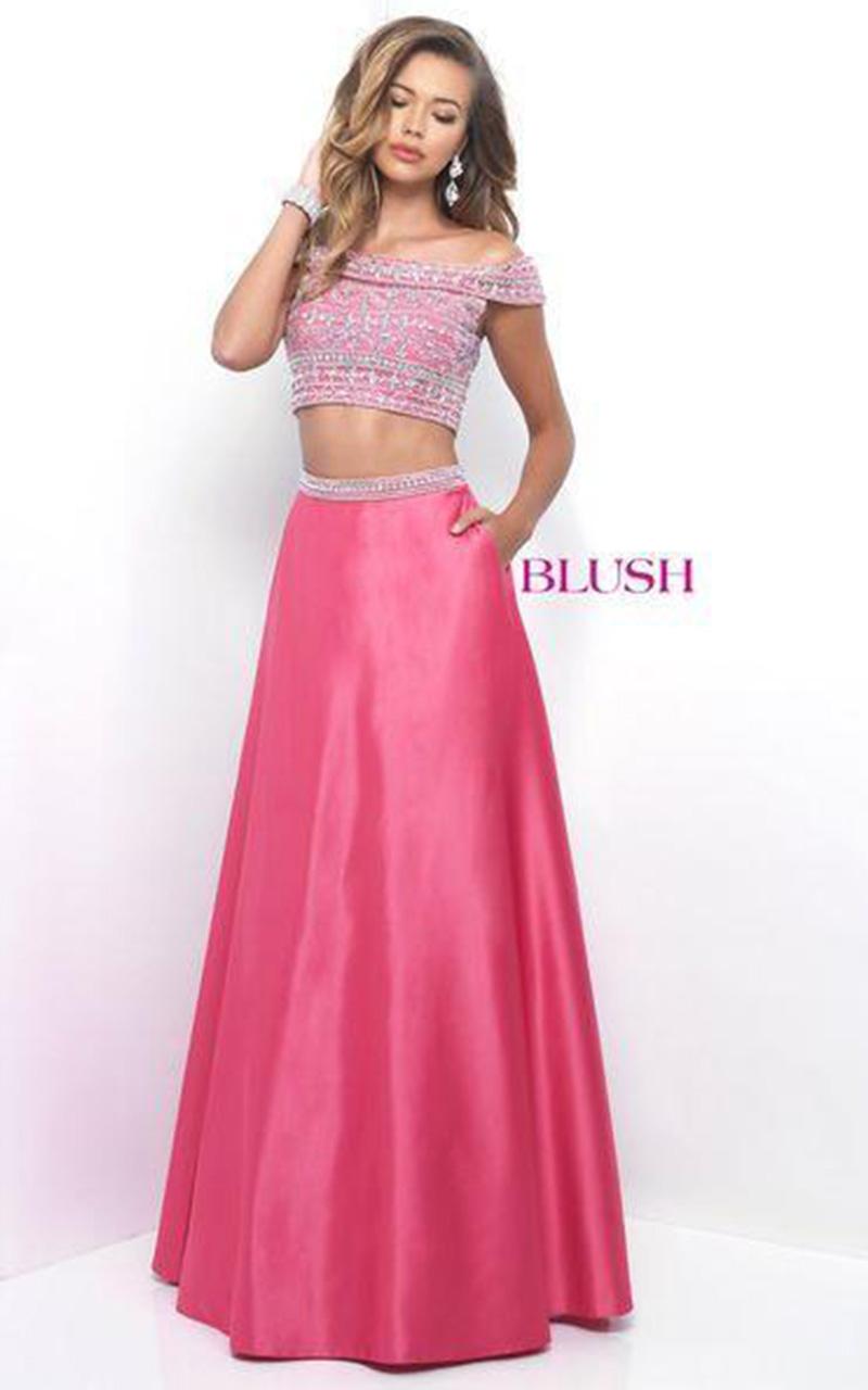 Blush | Style 11211  Size 12, Purple