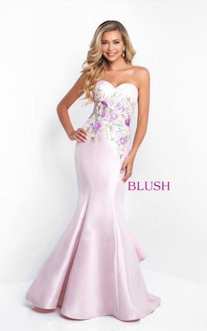 Blush | Style 11505  Size 4, Pink Sand