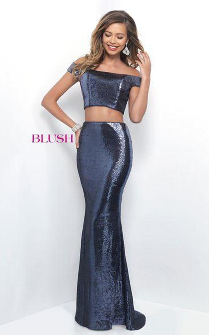 Blush | Style 11296  Size 8, Plum