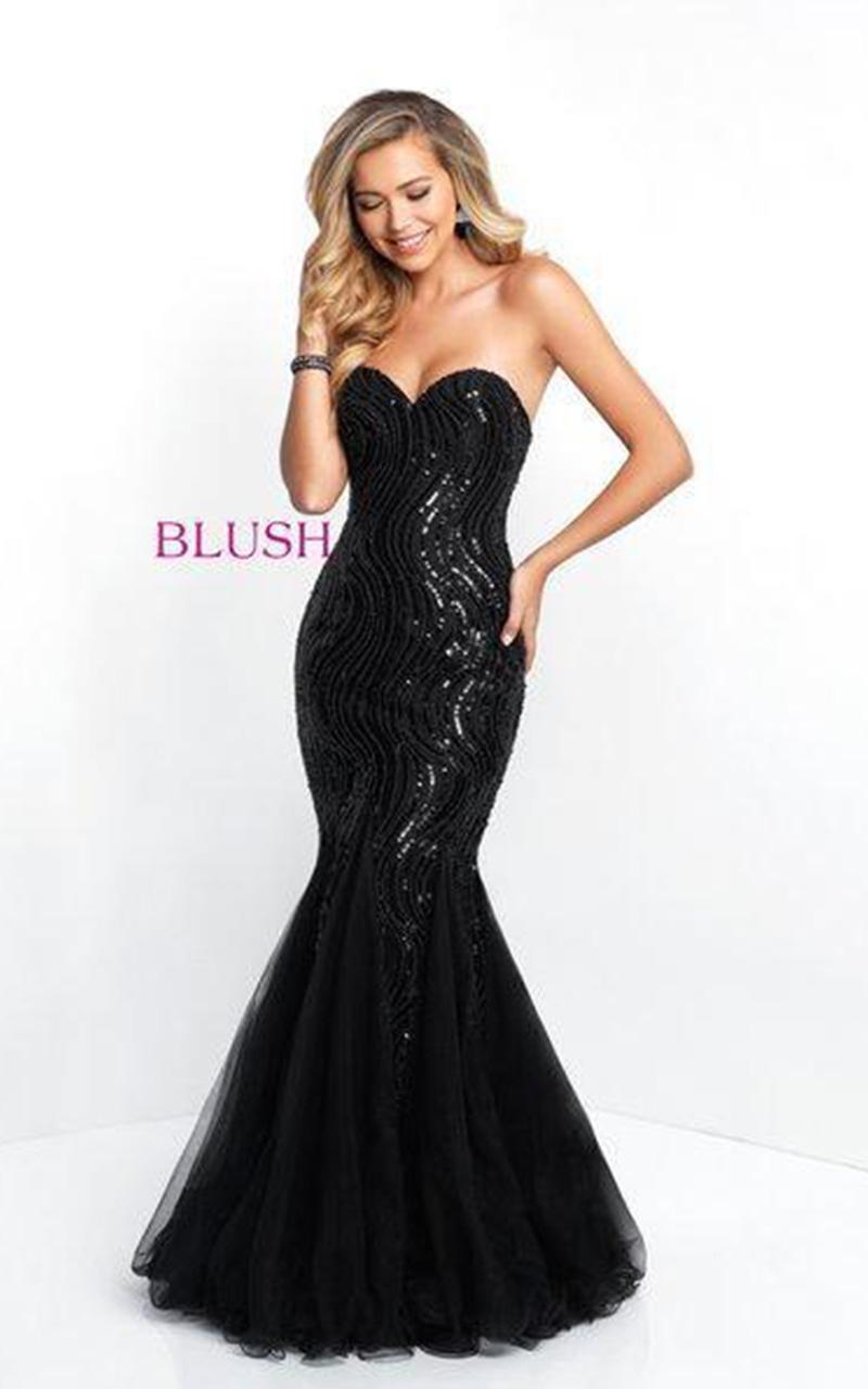 Blush | Style 11510  Size 16, Black