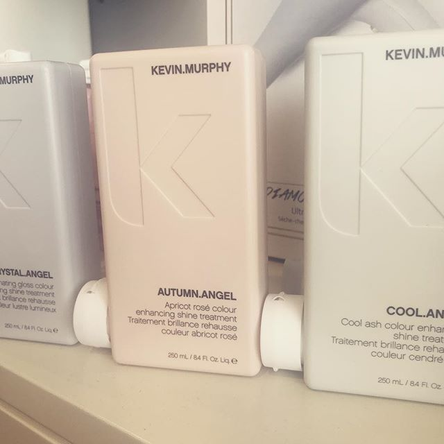 Can you just not wait for autumn? Try the new Kevin Murphy autumn angel treatment to add warm tones & shine to your hair!