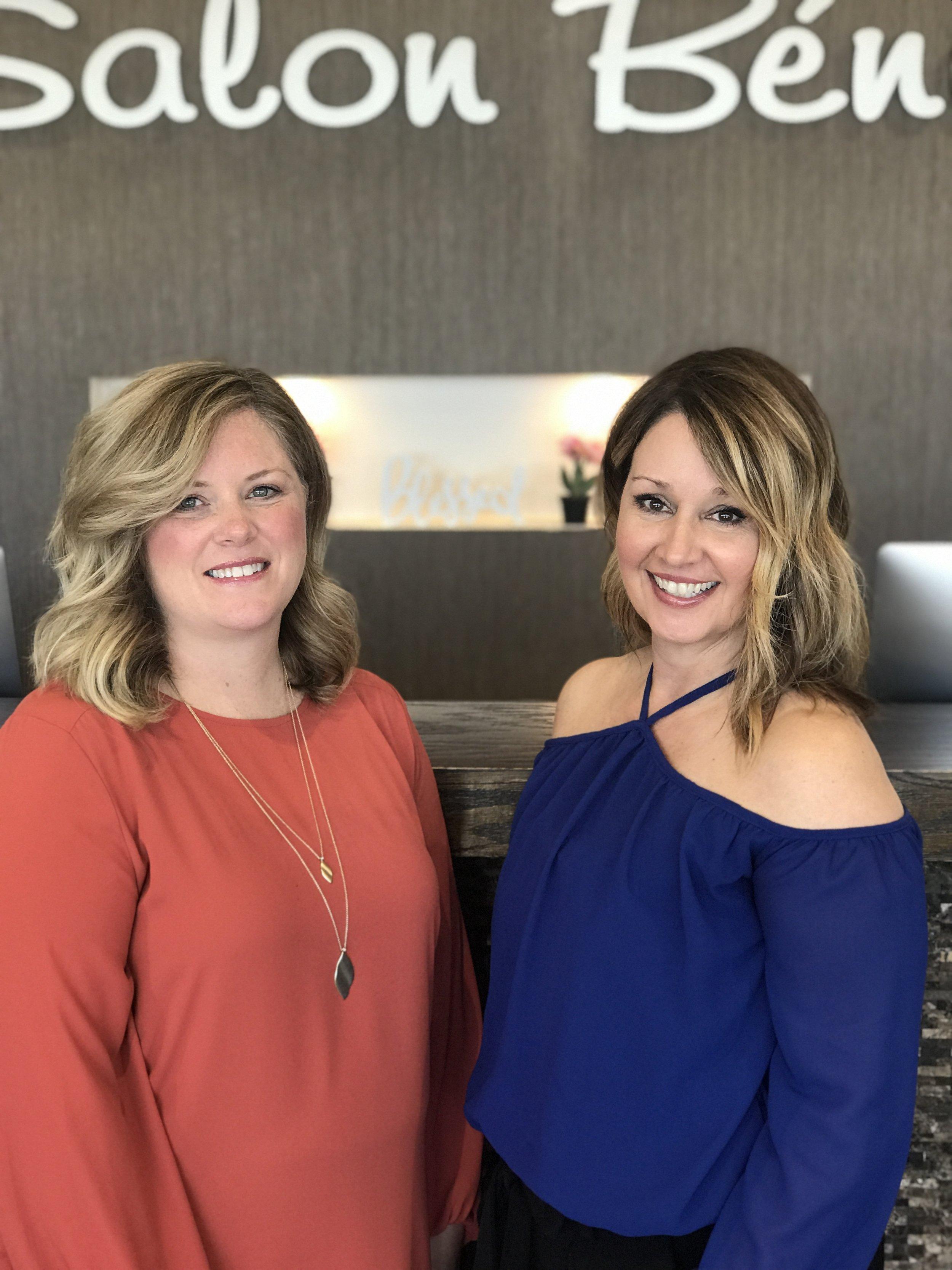 Katie and Terri - Owners of Salon Beni