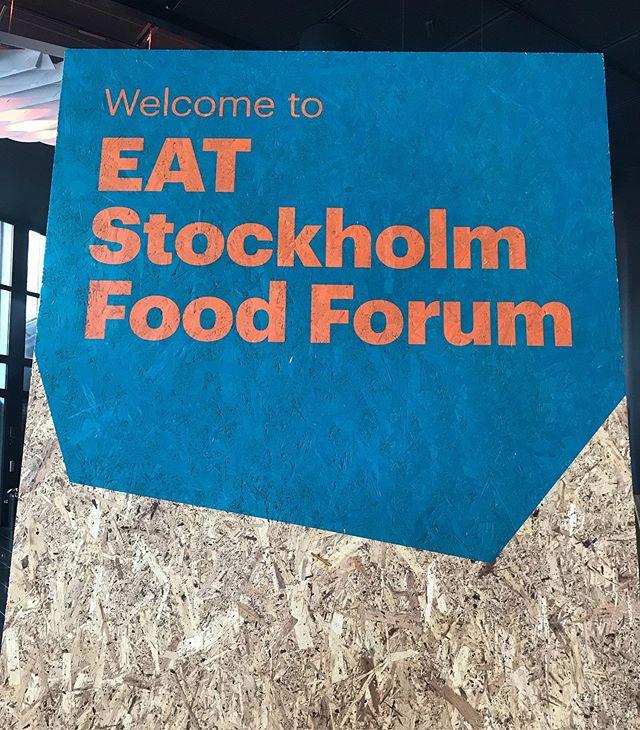 Restauranglabbet på plats @eatfoundation Tydligaste behoven just nu enligt världens ledande experter: goda exempel, verktyg för att knyta samman producenter med slutkonsument samt utbildning. ✔️#restauranglabbet