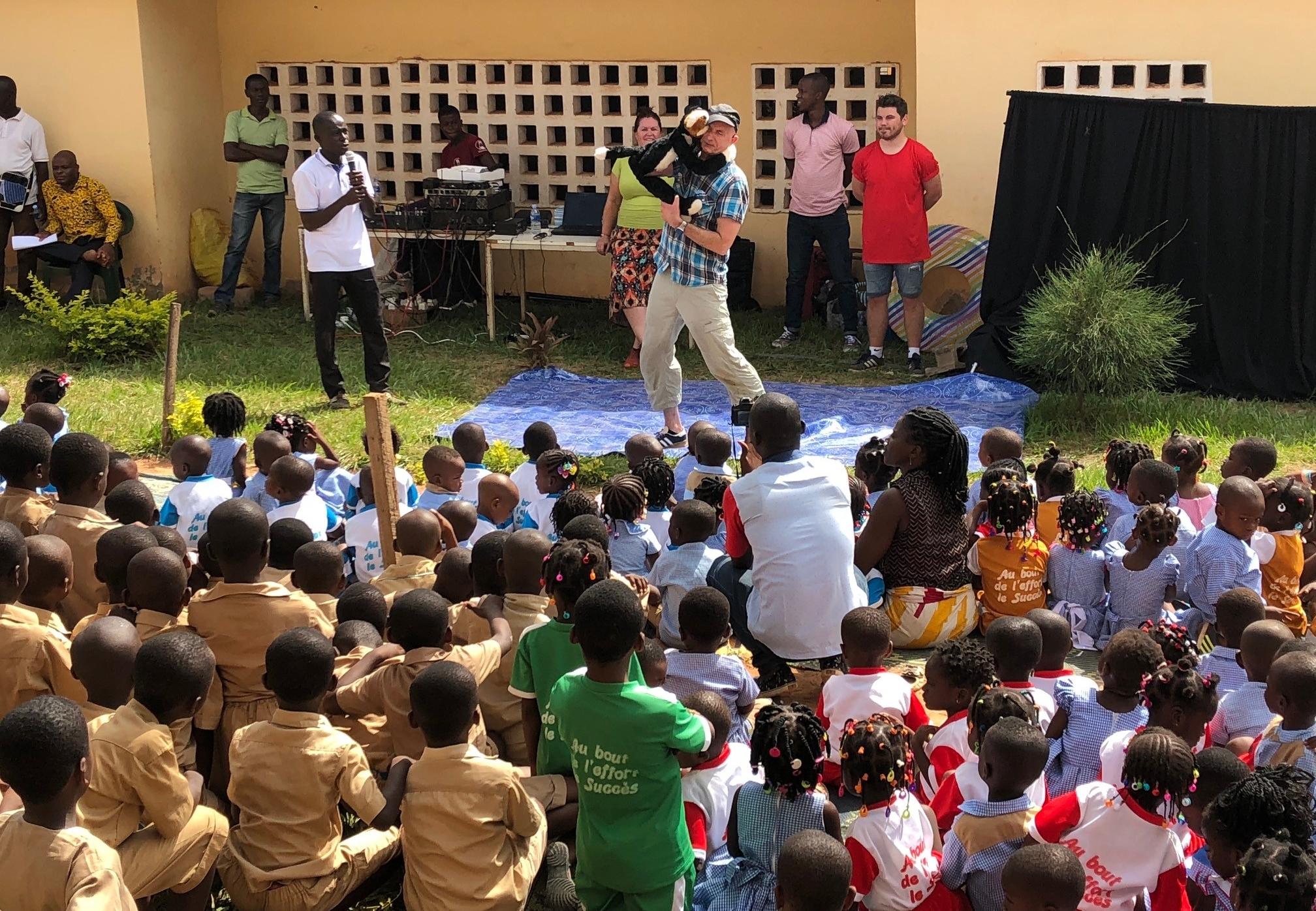 Several schools in Abidjan opened their doors to our team this week.