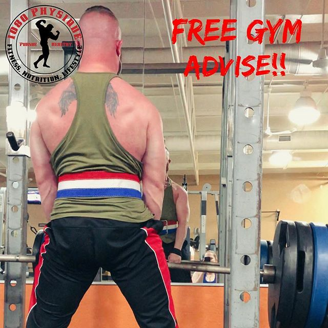 Here's your free gym advise. -STOP fucking giving unsolicited gym advise. What's worse than unsolicited gym advise? WRONG unsolicited gym advise. Now you're blind and you're leading the blind. If someone asks for advice, make sure you know your shit.