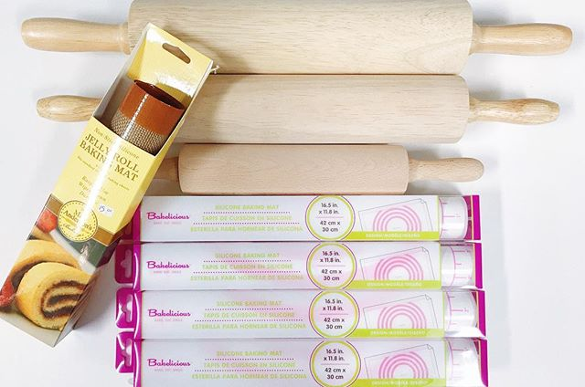 Rolling pins and silicone baking mats! Find all your baking essentials here at @littlebittsshop