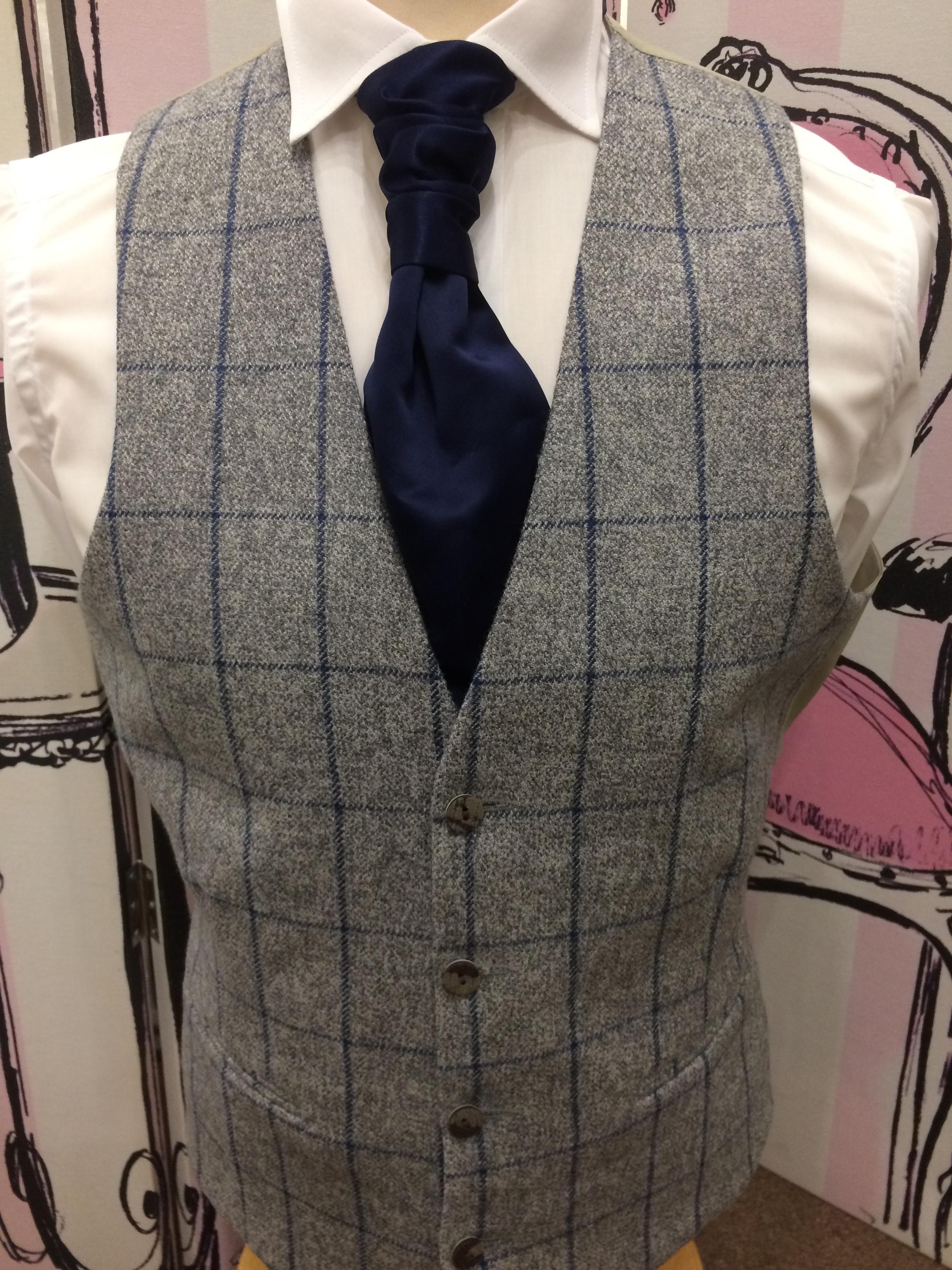 Blue & Grey Tweed