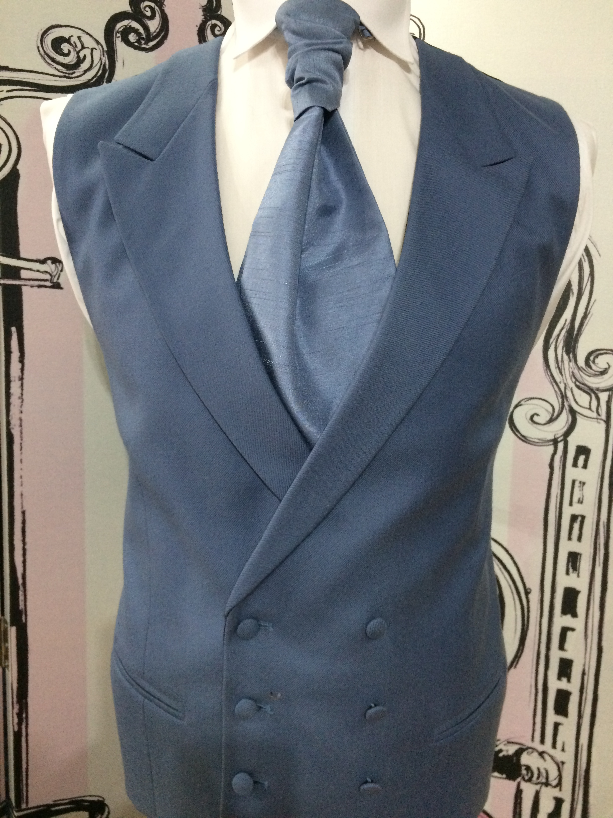 Double Breasted Wedgewood Ascot
