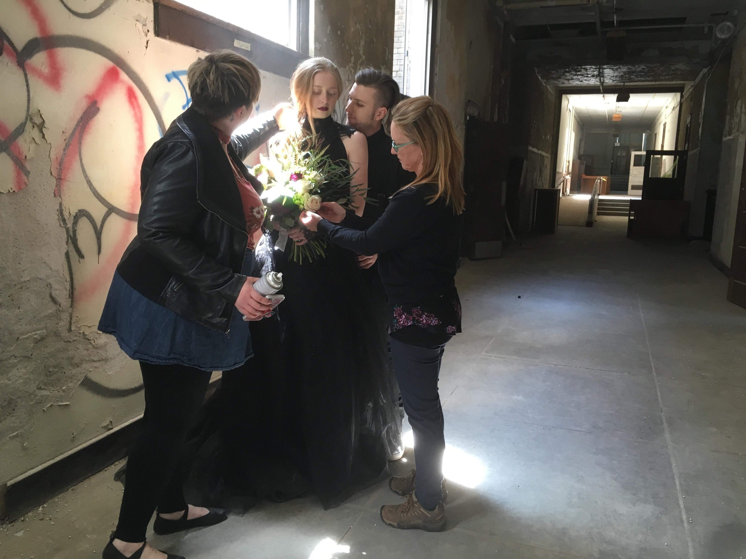 working together to make the magic! - Des Moines has great wedding vendors!We Love to work with :+hair and makeup-Trixies Aveda Salon+photography-Raelyn Ramey+menswear-Skeffingtons Formal Wear