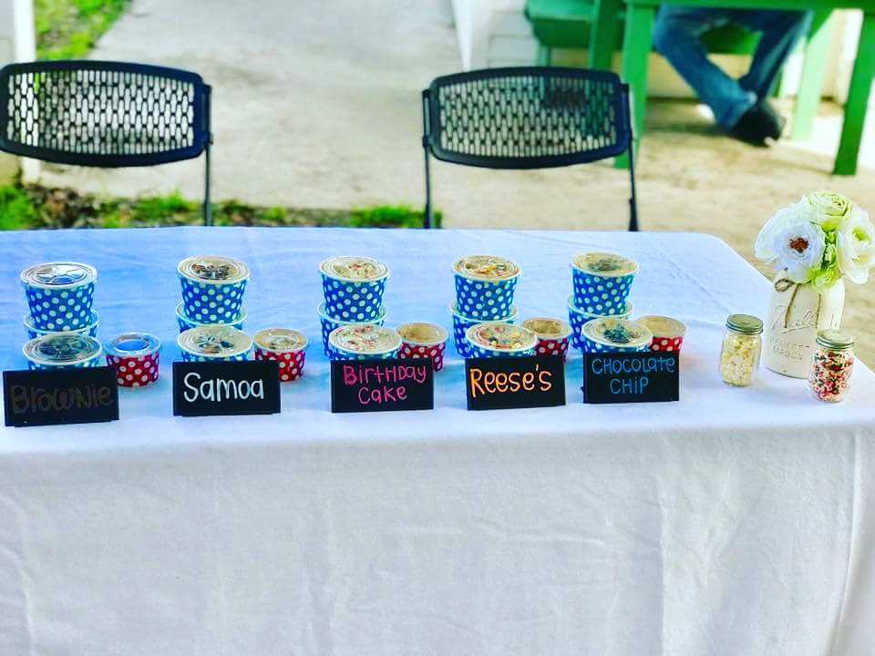 Flavors You'll Love - Geaux Deaux creates unique flavors based on other favorite cookies, desserts, and ice cream flavors. No two flavors taste alike, and each one will leave you wanting just one more bite...