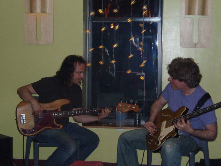 Bass duo with Dave Driewitz