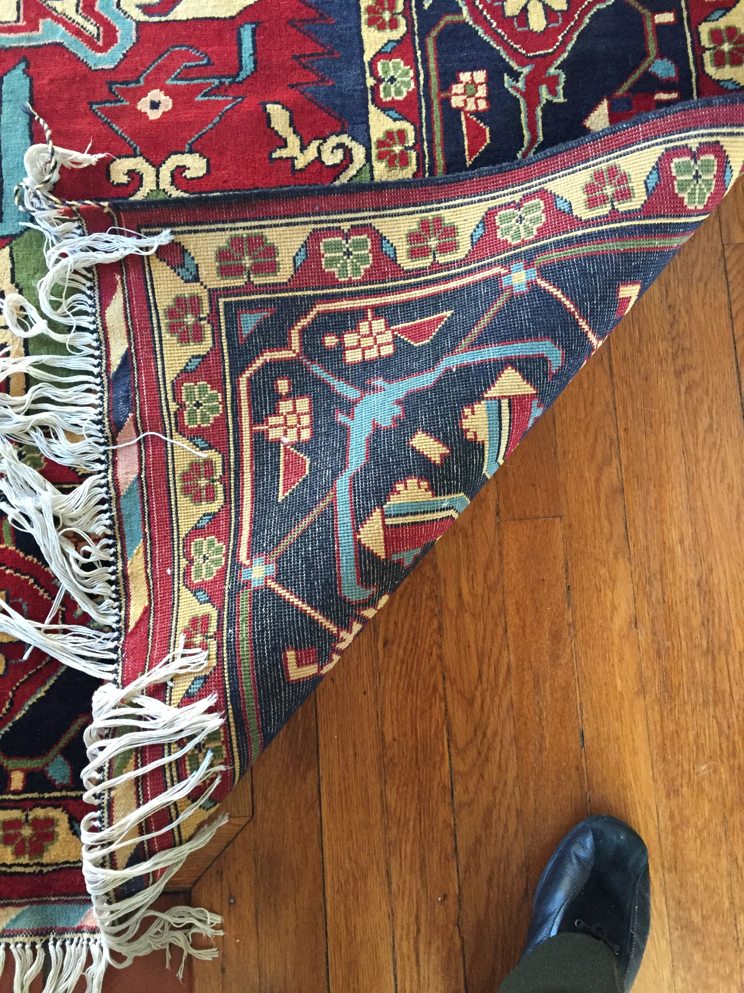 Finely Woven Oriental Rug