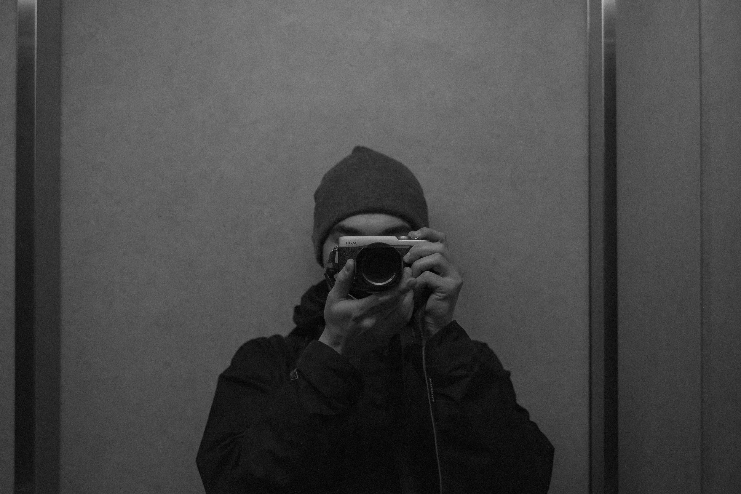 Self Portrait - 2017-??-??: The start of a photo-series that has no purpose other than documenting everyday life.