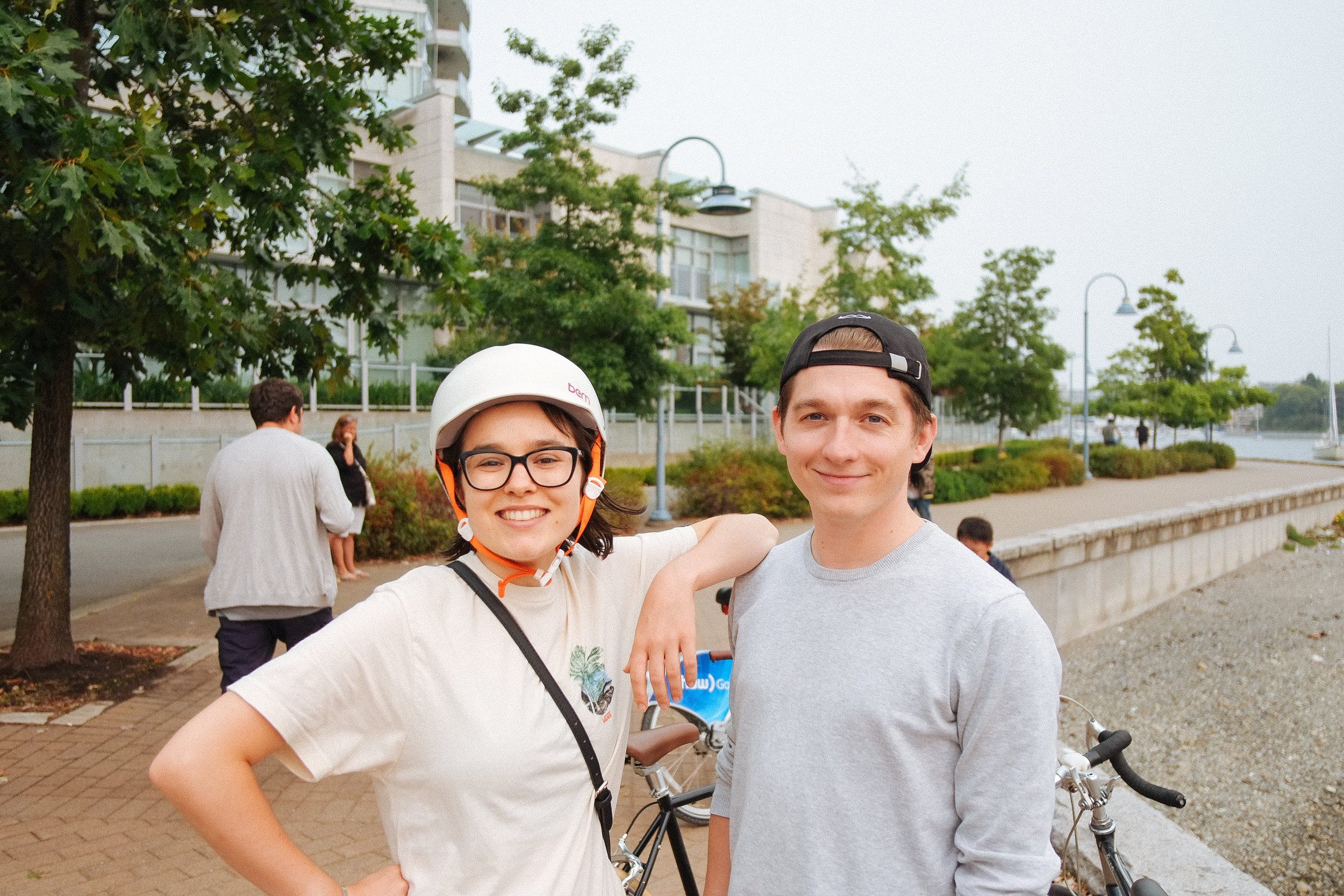 The Seawall - 2018-08-19: I really asked a lot from my friends, family, and loved ones during the august birthday week. They really delivered. I felt so much love, attention, and peace hanging out, going for coffees, dinners, drinks, and bike rides. Thank you, thank you, thank you. <3