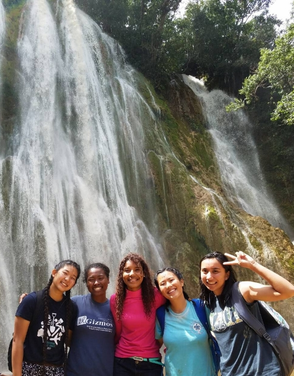 """Nataly, one of the CARP members, said """"This was an exciting trip, with a lot of rain, mud and poop but bonding with other young people and enjoying the nature that God created was definitely fun."""""""