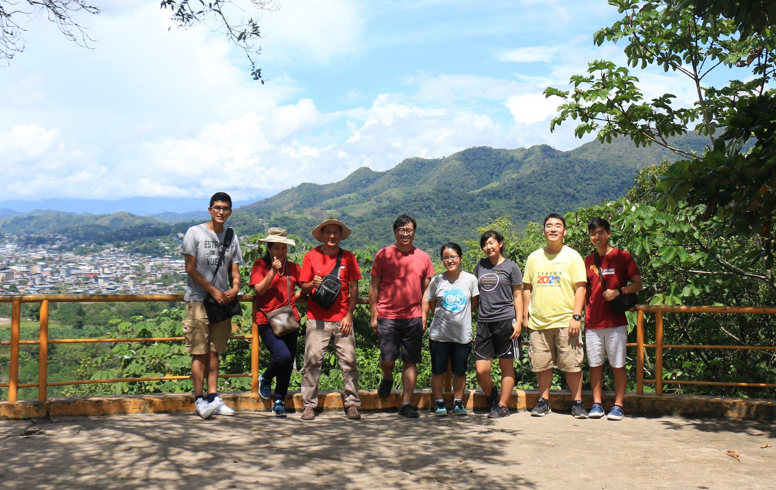 Peru Missionaries with Peru CARP Members
