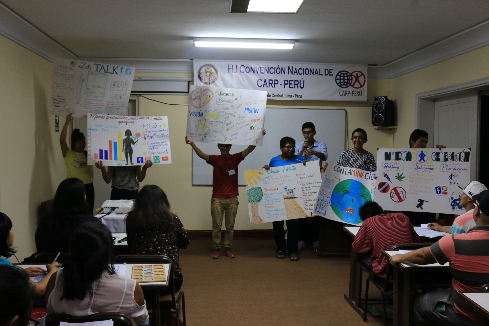 Presenting Project Ideas