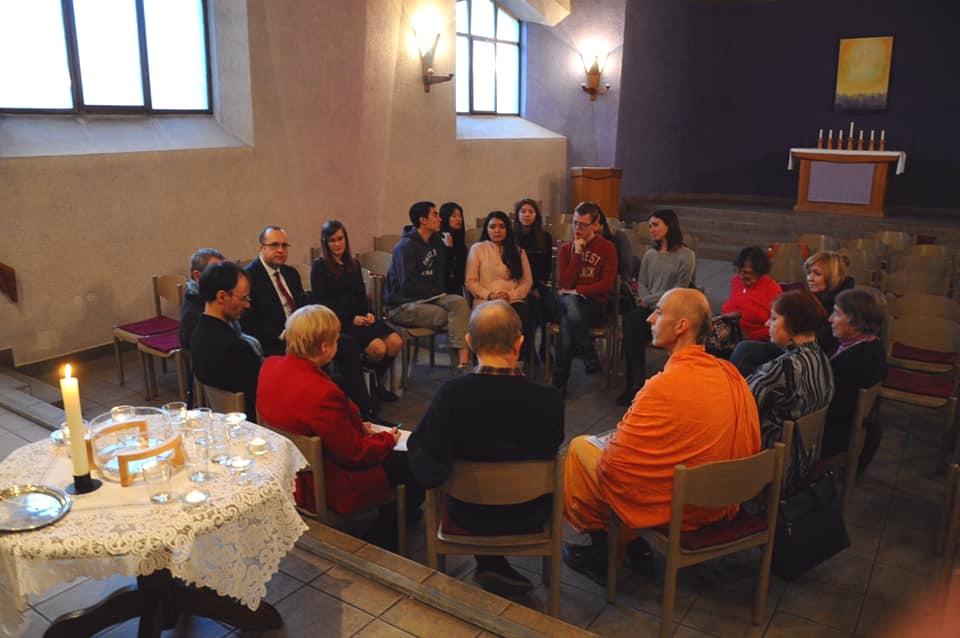 Representatives from Jewish, Muslim, Mormon, Hindu and Christian faiths