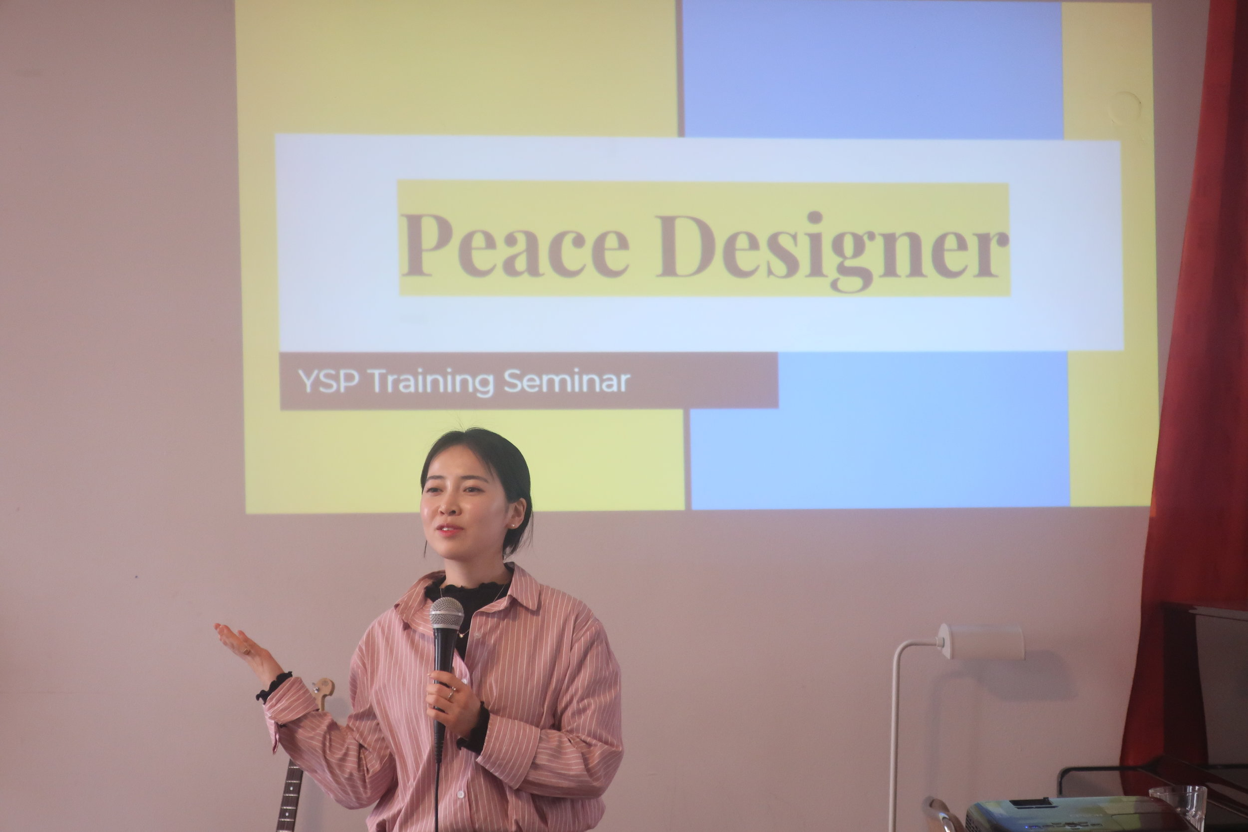 Jeong-Hye Yeom introducing YSP