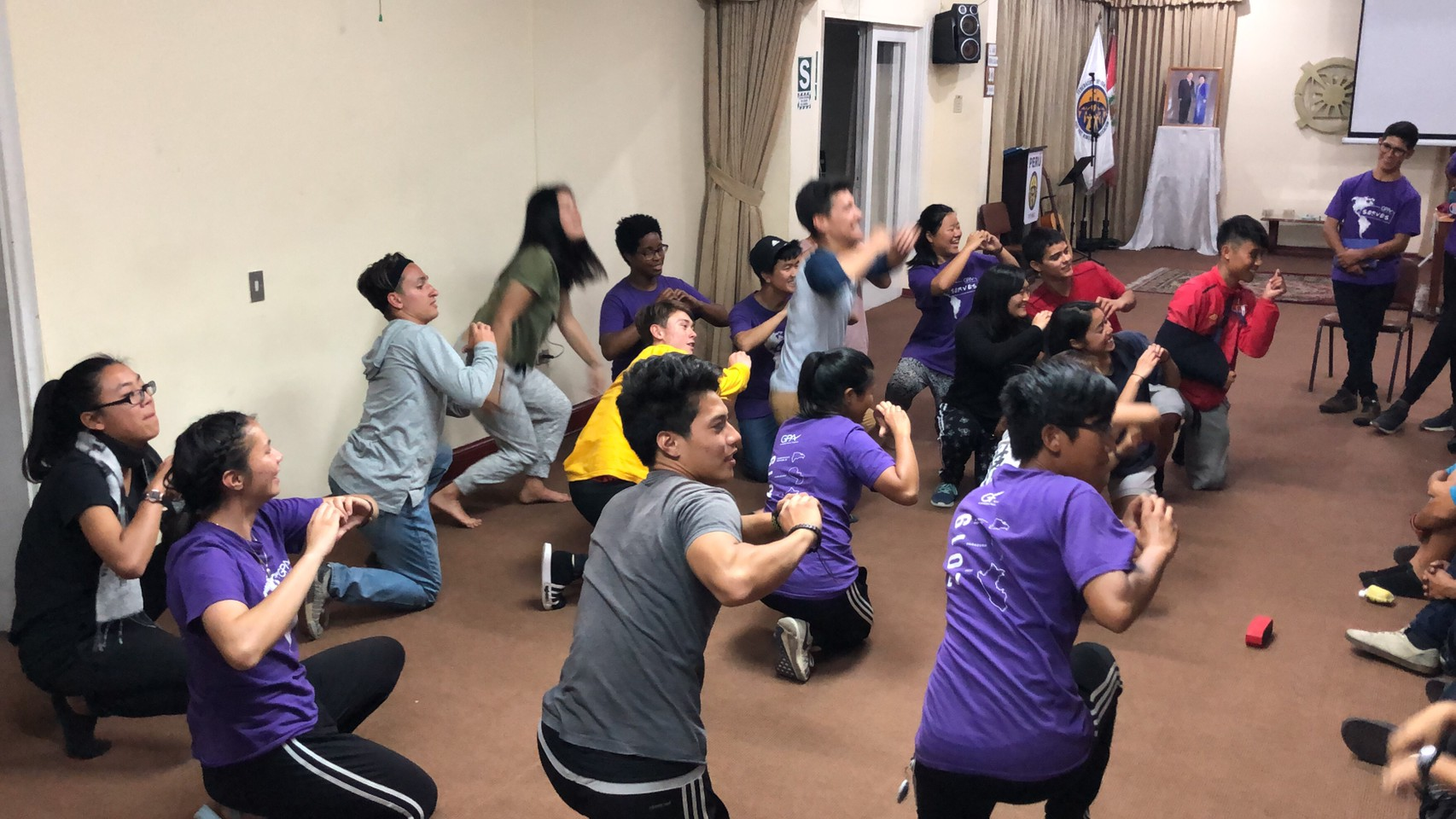 GPA Participants offering a Dance