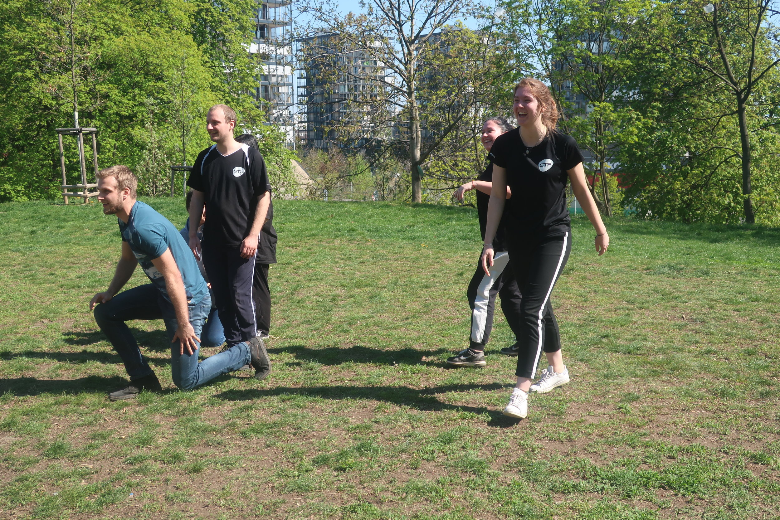Sport activities in afternoon