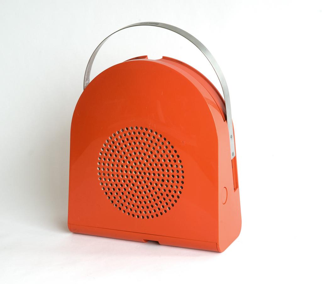 Bellini's Minerva GA 45 Pop Automatic Record Player design, 1968, MoMA Collection