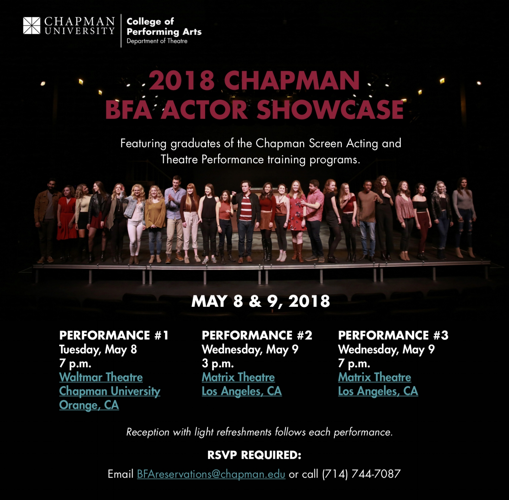 2018 Chapman BFA Actor Showcase Invitation.jpg