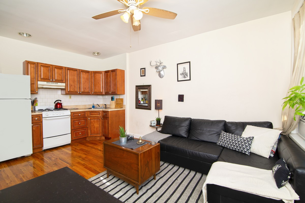 447 Classon Avenue Kitchen and Living room.jpg