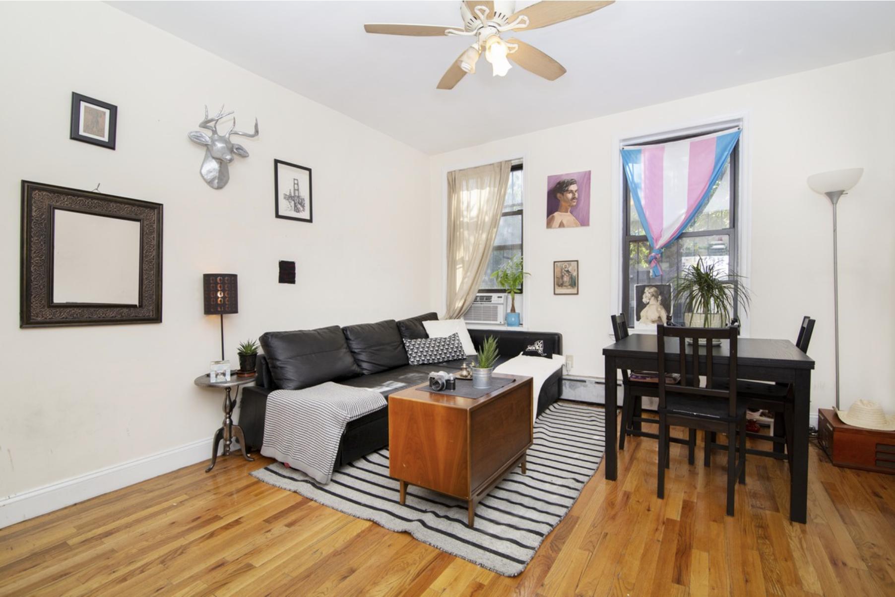 $2,425/month 2.0 BD | 1.0 BA | 711 SF  Bedford Stuyvesant  447 Classon Avenue