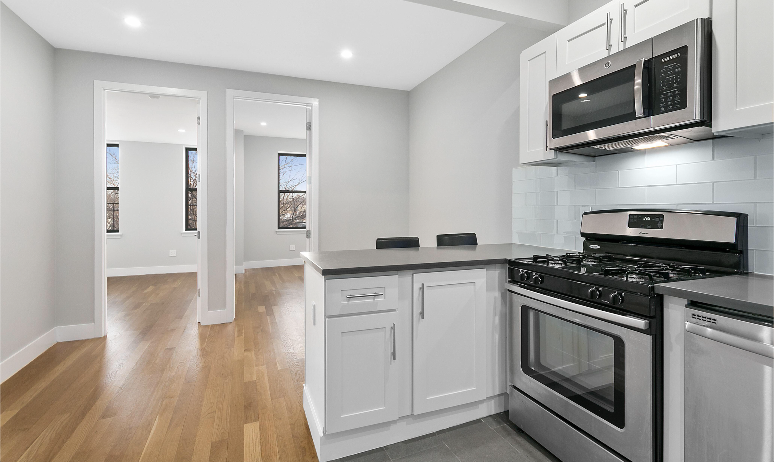 $2,650/month 3.0 BD | 1.0 BA  Bedford Stuyvesant  223 Ralph Avenue Apt. 5