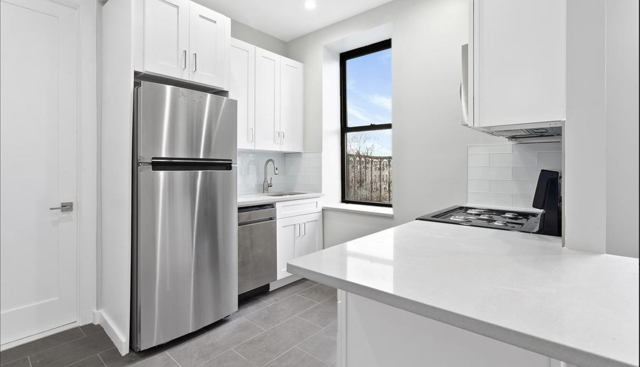 $2,350/month 2.0 BD | 1.0 BA  Stuyvesant Heights  490A Jefferson Avenue
