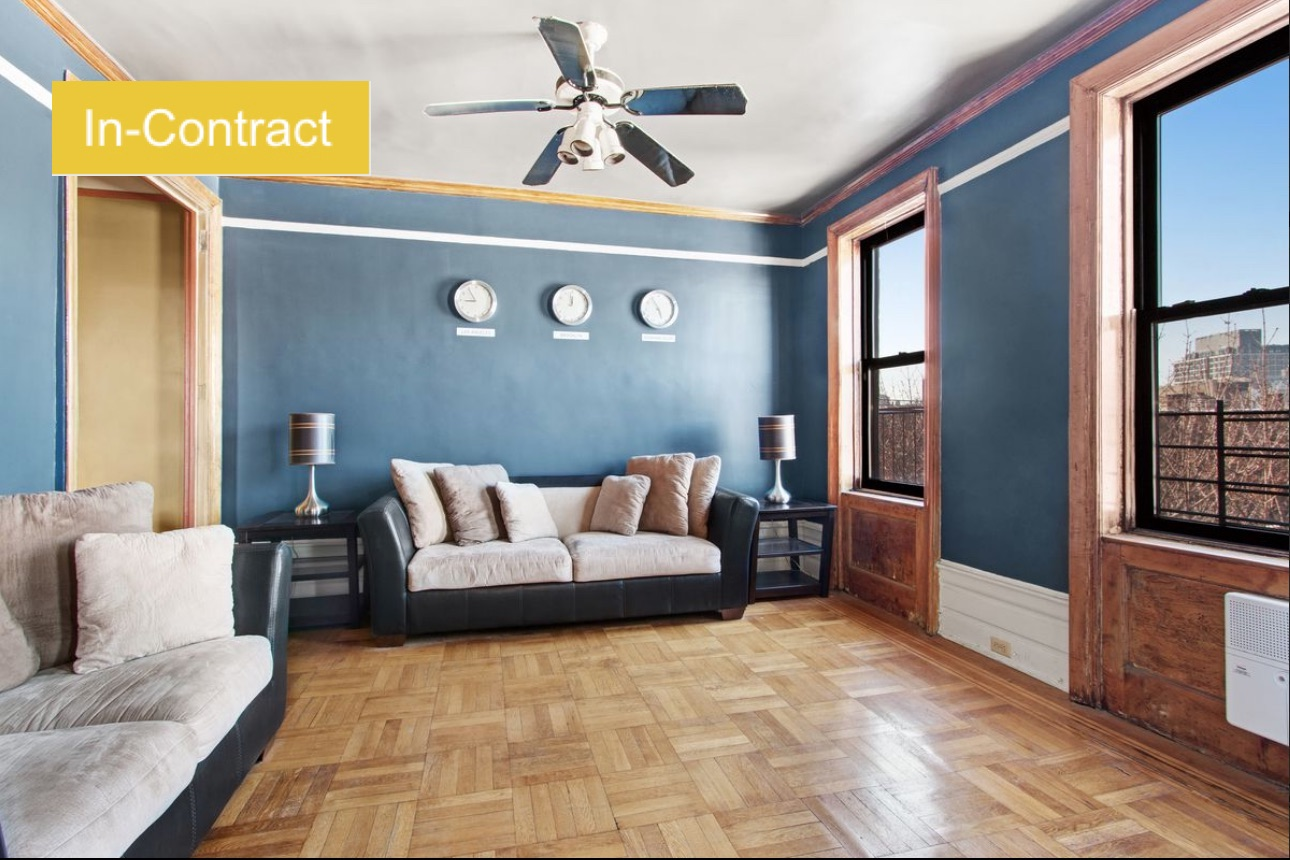 $444,000 1.0 BD | 1.0 BA | 780 SF  Clinton Hill  110 Cambridge Place |   Contract signed