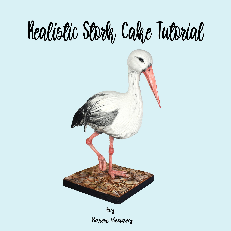Realistic Stork Cake Tutorial