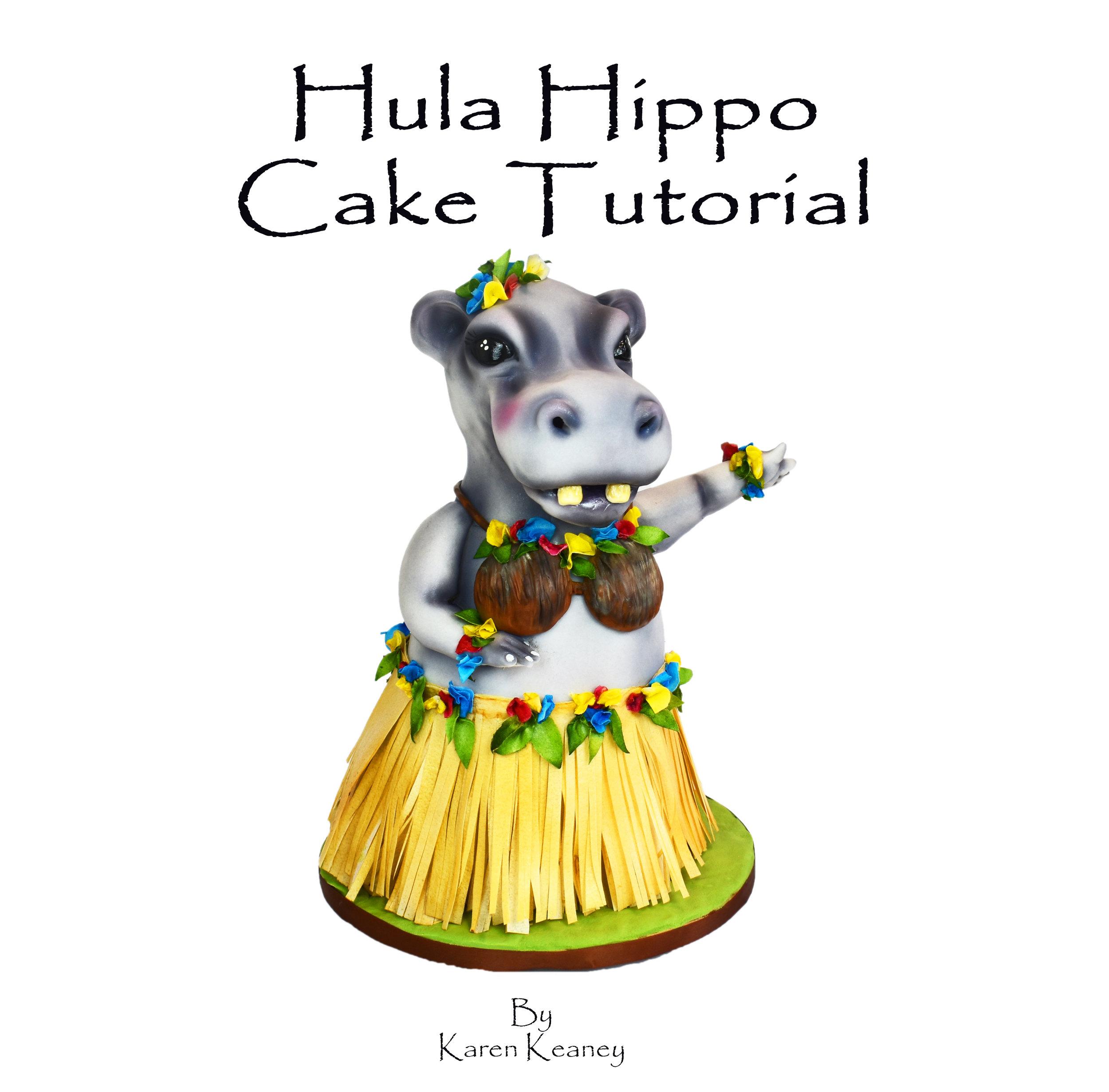 Hula Hippo Cake Tutorial
