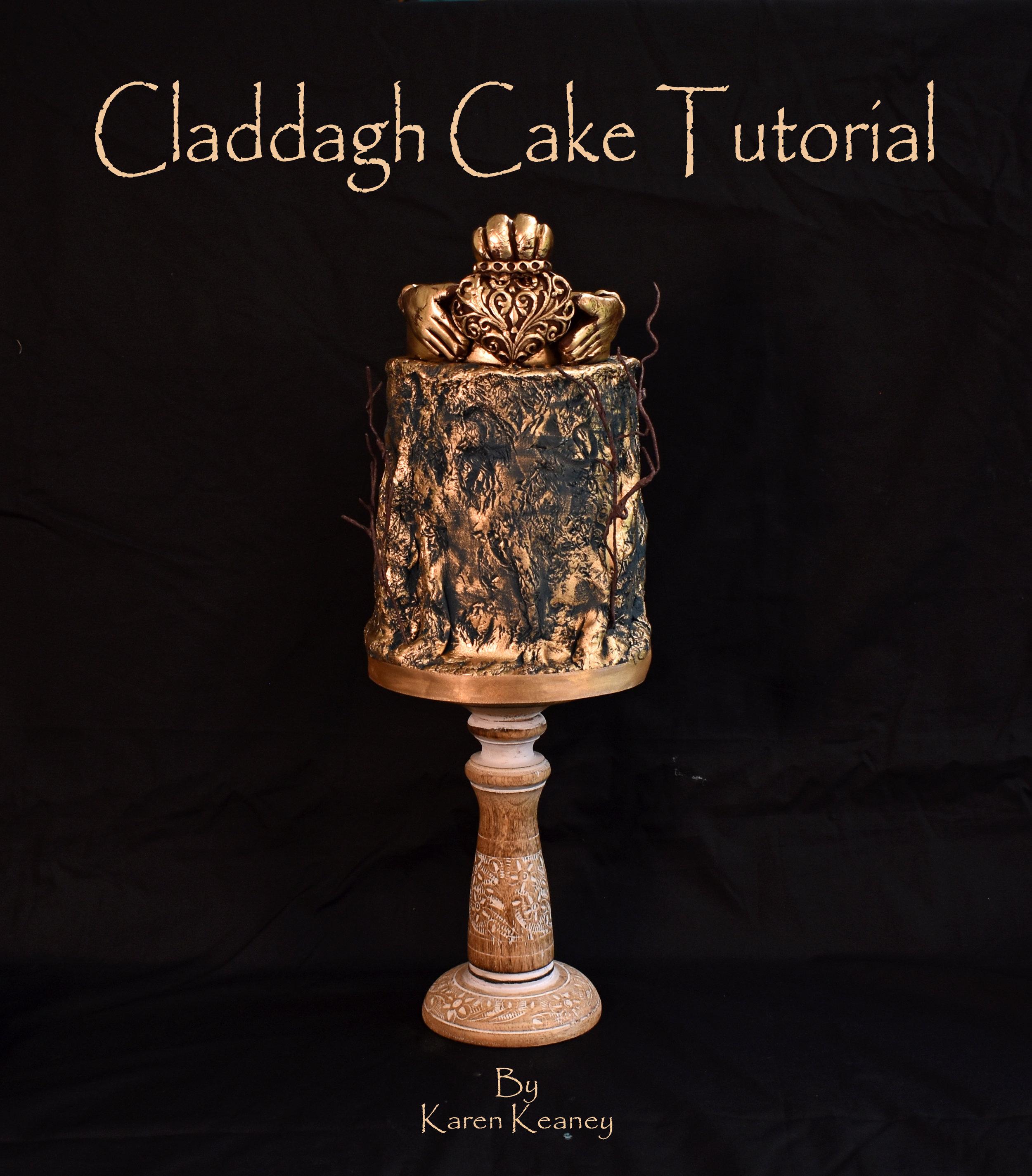 Claddagh Cake Tutorial