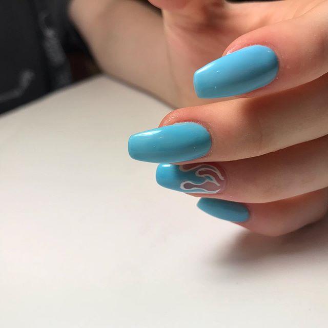 #geldesign #opigelcolor #fullsetnails #cndnails #gelnails #🌊