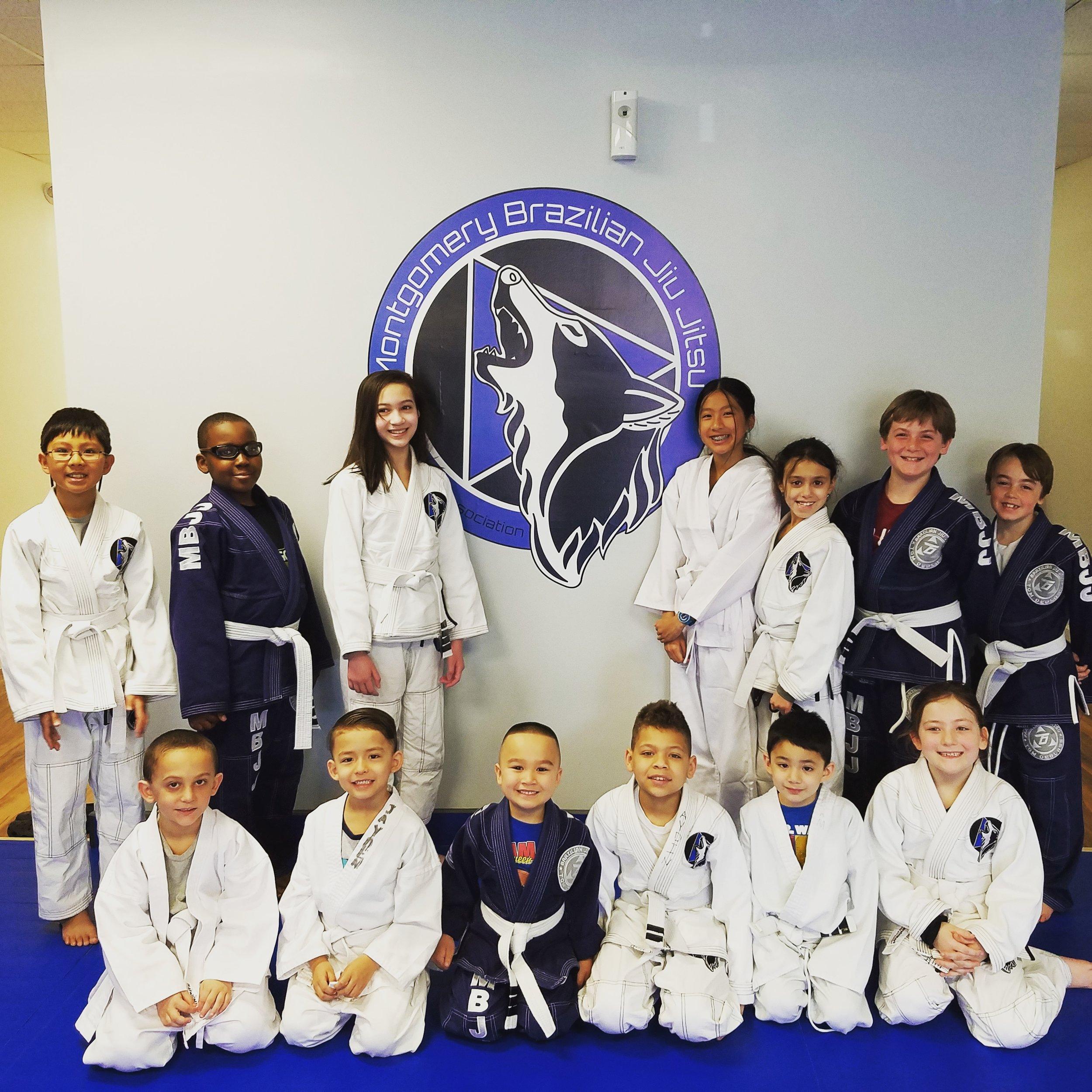 Montgomery BJJ kids class