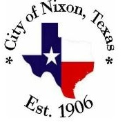 City of Nixon - 100 W. 3rd St.(830) 582-1924Nixon, TX 78140citymanager@gvec.net