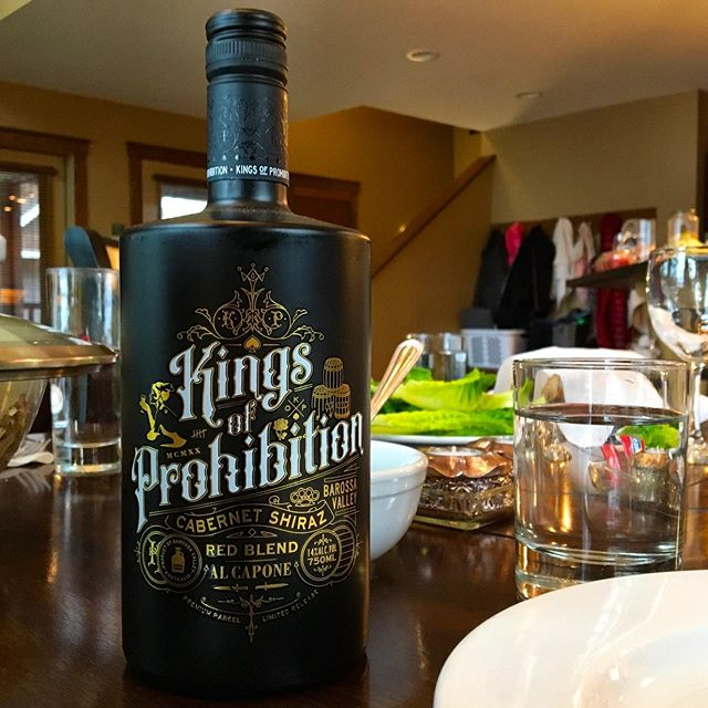‪Happy #NationalWineDay! A wine worthy of celebration, @kingsofprohibition has a strong sweet berry flavor to start, with a surprisingly pleasant dark bite to it. A new favorite blend. #siptothat 🍷‬